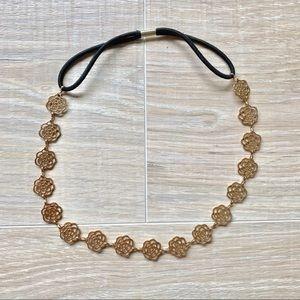 Jewelry - 🌼 Gold Flower Headband
